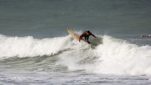 Amor Beach, the surfing arena of Pipa