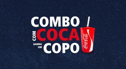 Promoção Combo + Coca = Copo