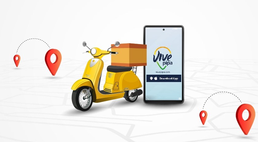 Register your Delivery at Vive Pipa