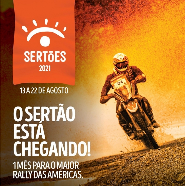 The Rally of the Sertões will have its start at Pipa Beach in 2021